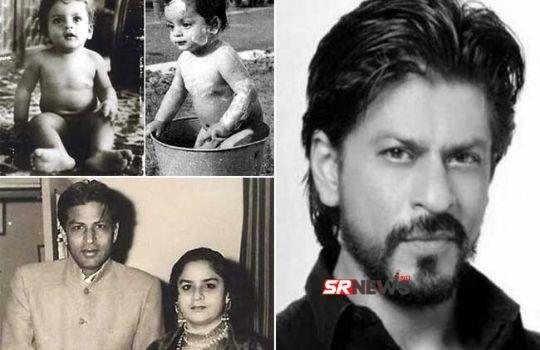 Shahrukh khan father