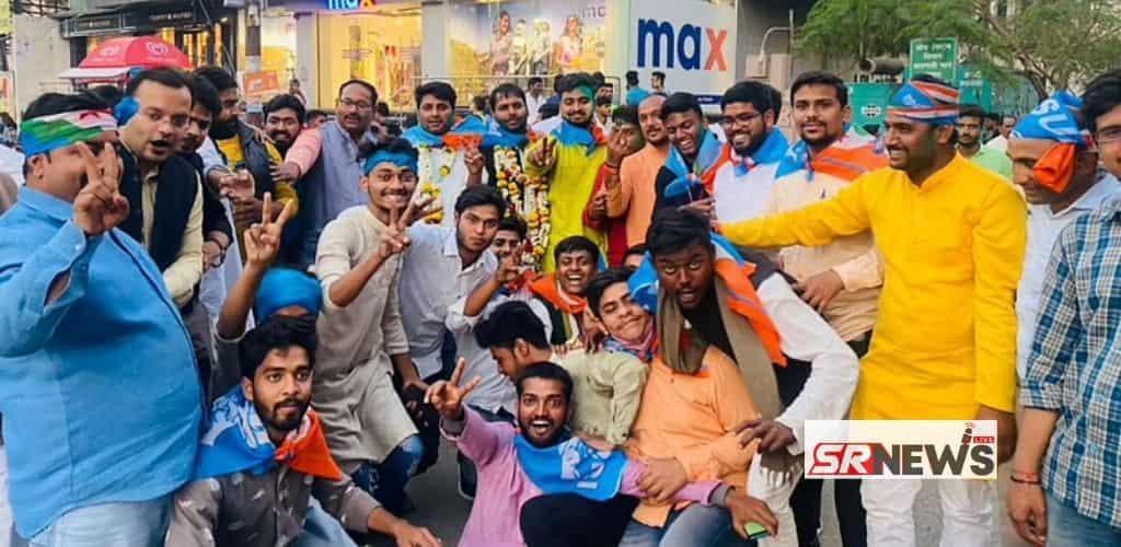 NSUI win election in varanasi