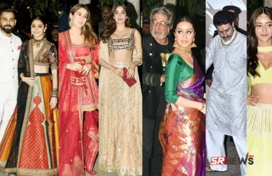 Bollywood Stars in Marriage party