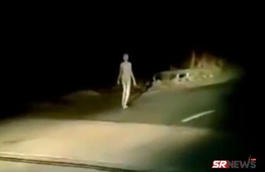 Hazaribagh Alien Viral Video