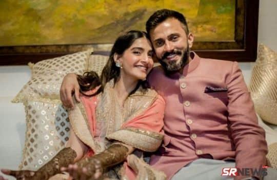Sonam Kapoor with husband