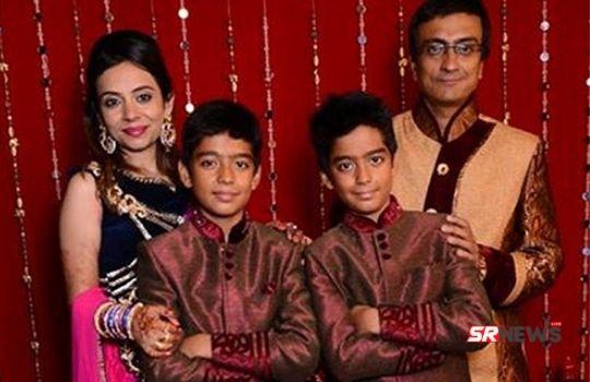 Amit Bhatt Family