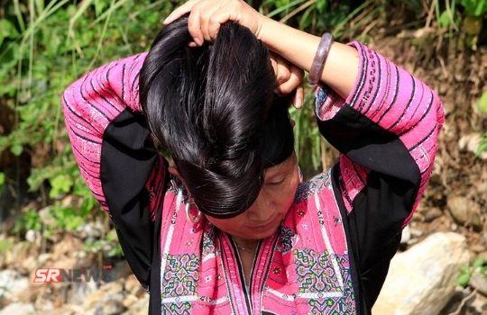 CHina girl hair size