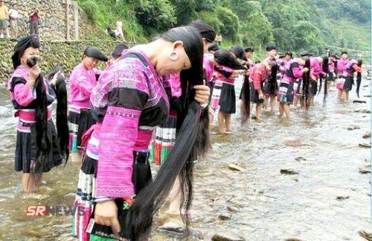 CHina girl hair