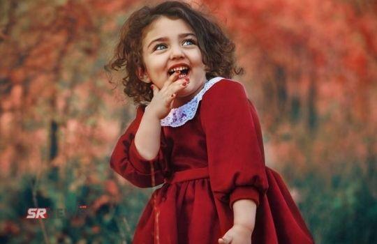 Cute smile baby girl