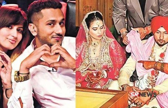 Honey Singh with shalini talvar