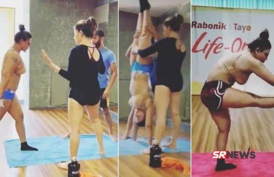 Rakhi Sawant Yoga Video Viral
