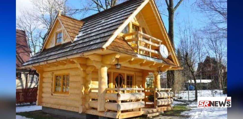The Little Log House 290sqft