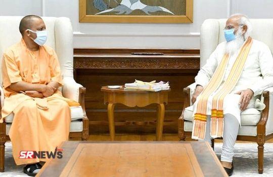 Yogi Adityanath with PM