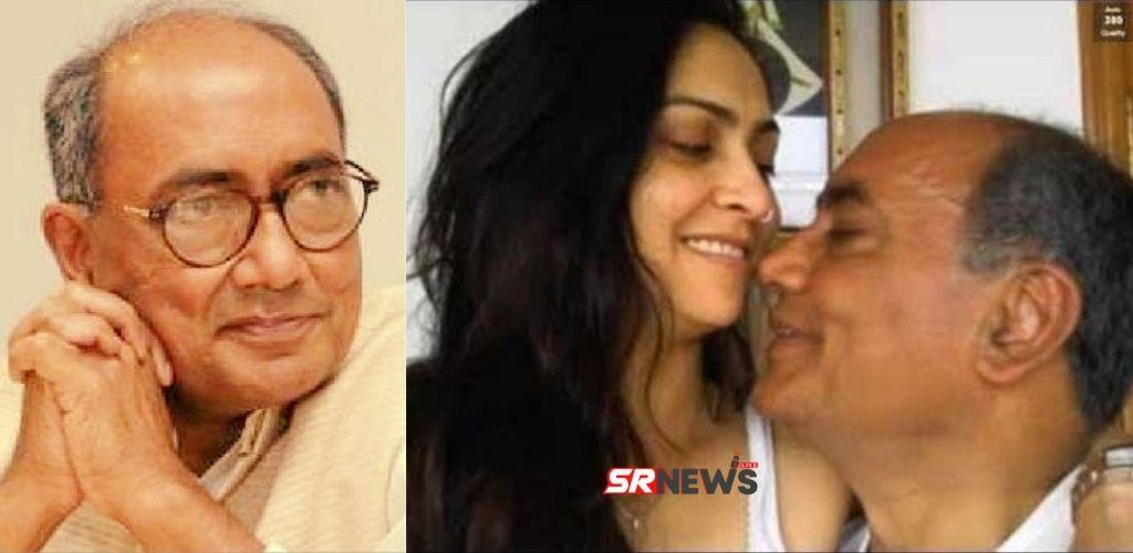 Digvijay Singh Amrita Roy Love Story