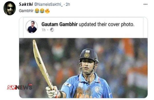 goutam gambhir twitter