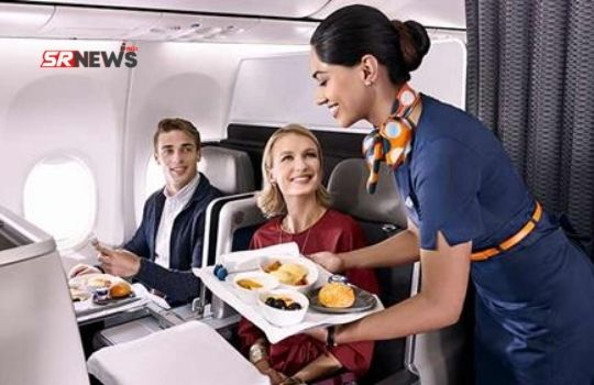 how to get free food in airplane