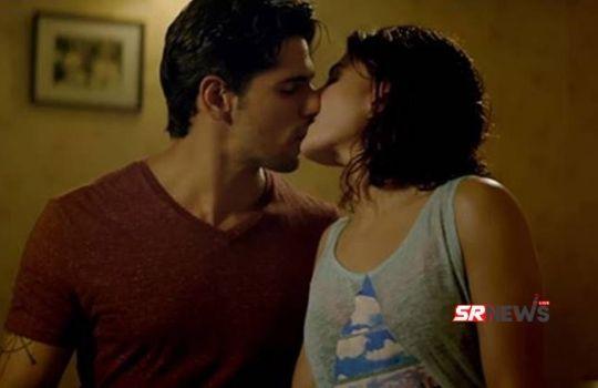 Bollywood kissing seen