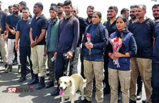 Bharat Rescue dogs from afganistan