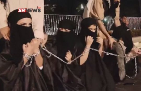 Girl Punishment in ISIS