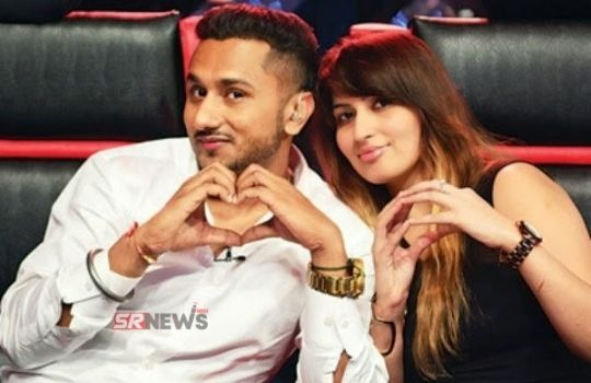 Honey Singh with wife