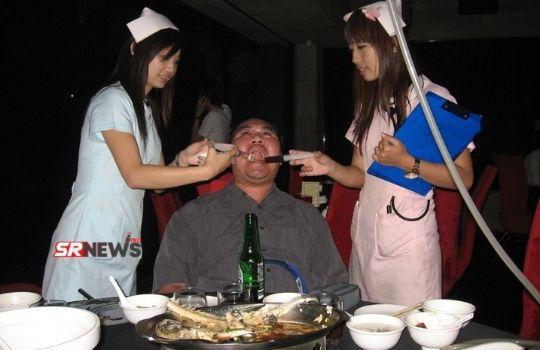 Hospital Themed Restaurant in China