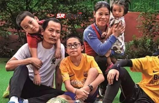 Mary Kom family