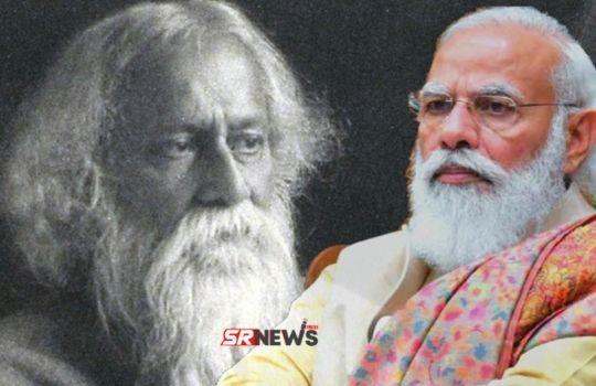 Narendra Modi vs Ravindra Nath Tagor