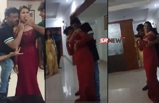 Ram Gopal Varma Viral Video