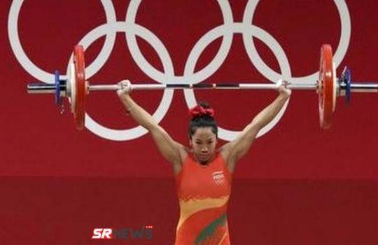 Silver medalist mira bai chanu