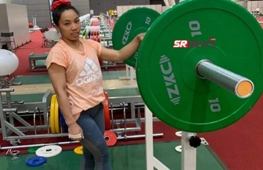 Silver medalist mira bai chanu (2)