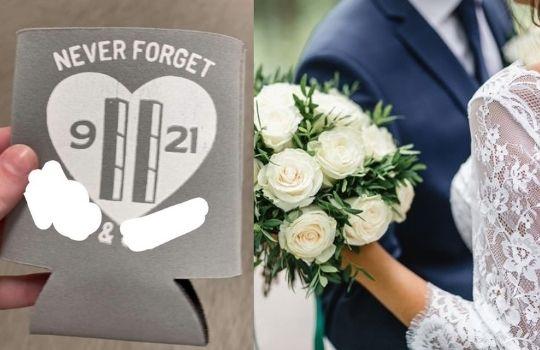 911 wedding theme