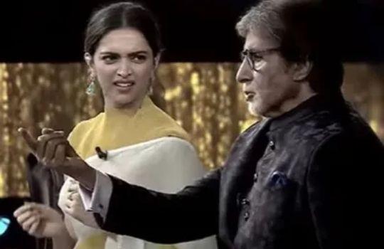 Deepika Padukone in KBC