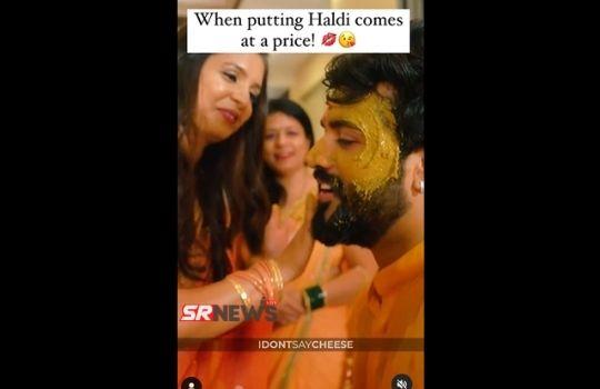 Haldi Ceremony Viral Video