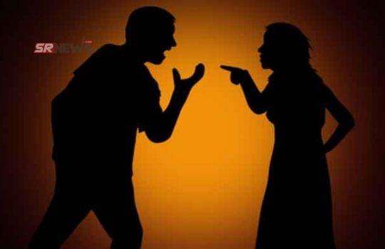 Husband wife fight for pani puri