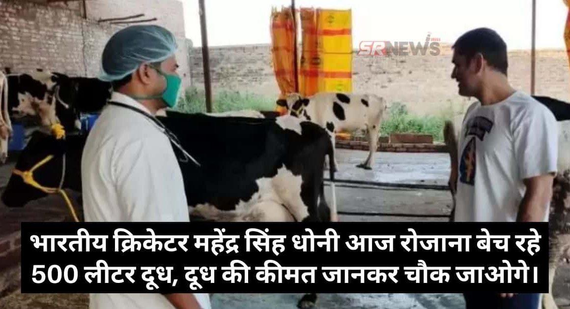 MS Dhoni Dairy