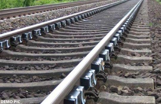 Rust in railway track