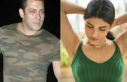 Salman khan and alizeh agnihotri