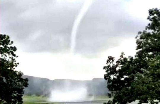 Water Tornado News