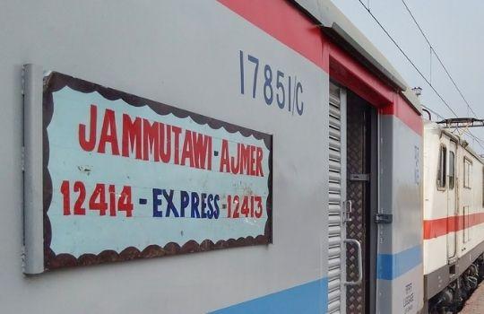 jammu ajmer train news