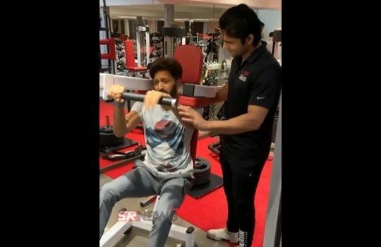 Riteish Deshmukh gym viral video