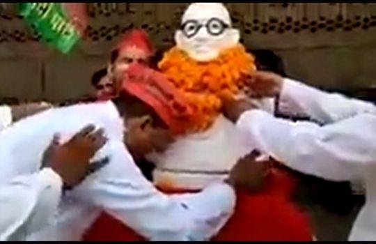 Gandhi Jayanti viral video