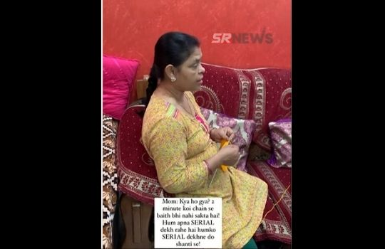 Mother angry video viral